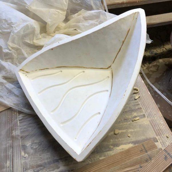 型起こしの為の石膏型が出来上がりました。